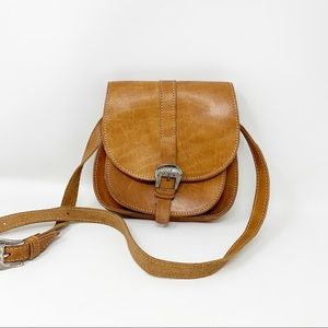 VTG Whip Stitched Leather Bag